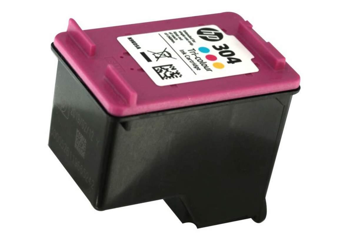 Bild 3 von Original HP Drucker Tintenpatrone 304 dreifarbig Tri- colour