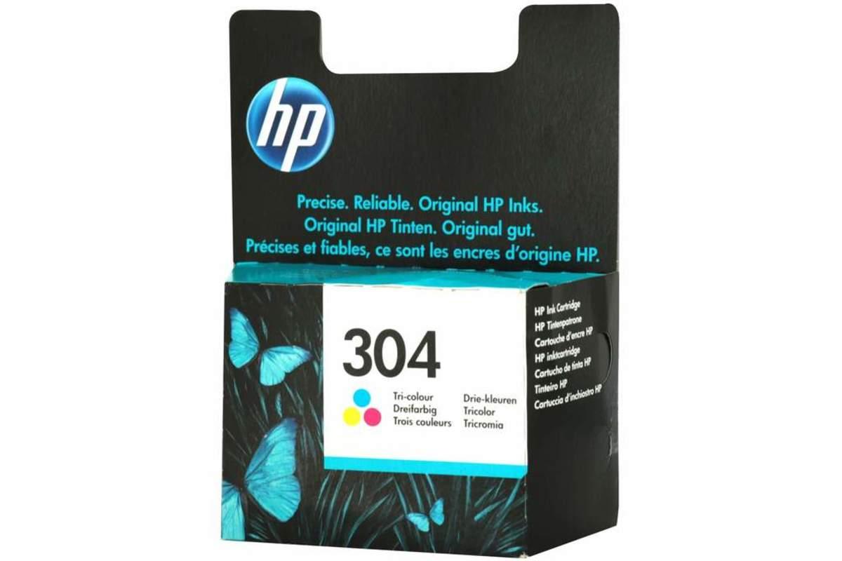 Bild 5 von Original HP Drucker Tintenpatrone 304 dreifarbig Tri- colour