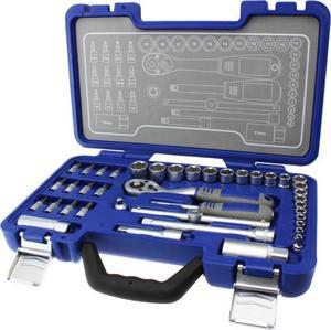 Michelin Steckschlüsselsatz im Werkzeugkoffer, 40-tlg.