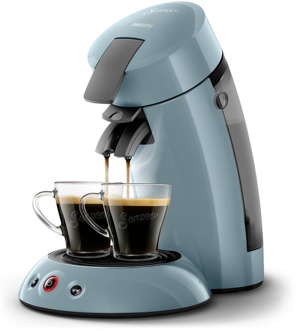 Philips Senseo Kaffeepadmaschine HD 6553/XX Original, Farbe Petrol