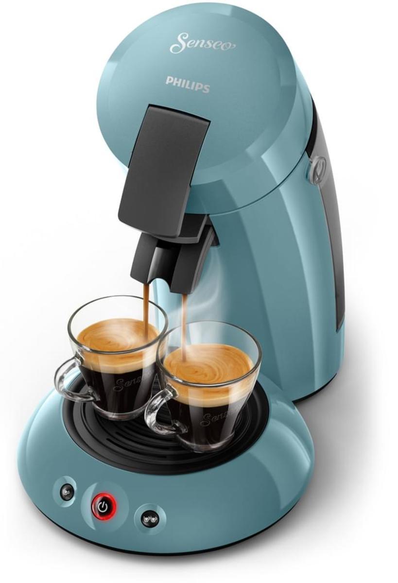 Bild 2 von Philips Senseo Kaffeepadmaschine HD 6553/XX Original, Farbe Petrol