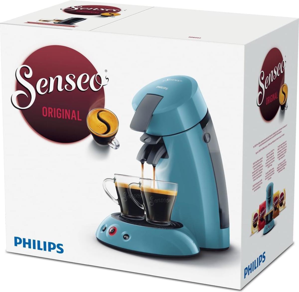 Bild 4 von Philips Senseo Kaffeepadmaschine HD 6553/XX Original, Farbe Petrol