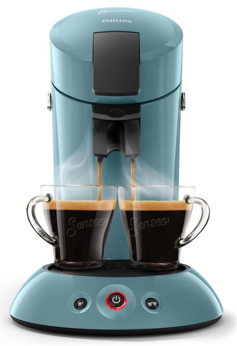 Bild 5 von Philips Senseo Kaffeepadmaschine HD 6553/XX Original, Farbe Petrol