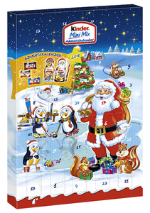 Ferrero kinder Adventskalender Mini Mix  152 g