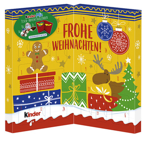 Ferrero kinder Tisch-Adventskalender Mix 127 g