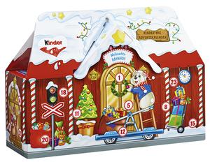 Ferrero kinder Adventskalender Weihnachts-Bahnhof in 3D 234 g