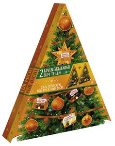 Ferrero Küsschen Adventskalender 426 g im 2er-Pack - 1 x für Dich/1 x für mich! à 24 Pralinchen 213 g