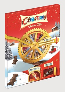 Celebrations  Roulette Adventskalender Special Mix 239 g