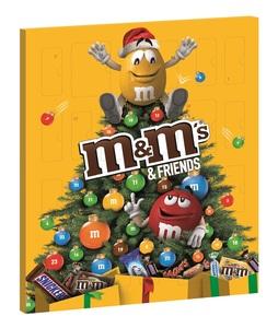 Mars m&m's & friends Adventskalender 361 g - Snickers, Milky Way, Mars, m&m's, Twix