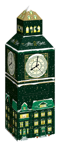 Nestlé AFTER EIGHT Adventskalender Big Ben, gefüllt mit Minzcremepralinen, 185g (24 Pralinen)