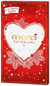 FERRERO merci Adventskalender Frohe Weihnachten 230 g