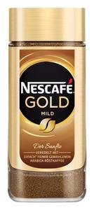 Nescafé Gold mild | löslicher Kaffee | 200g-Glas