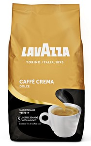 Lavazza Caffè Crema Dolce   ganze Bohne   1000g
