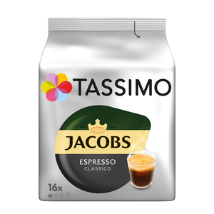 Tassimo Jacobs  Espresso Classico   16 T Discs