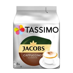 Tassimo Jacobs Cappuccino Classico | 8 T Discs