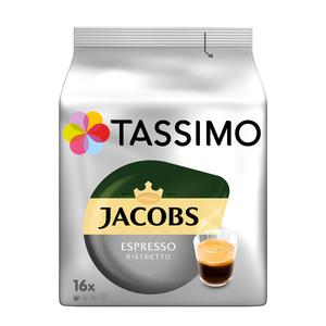 Tassimo Jacobs Espresso Ristretto   16 T Discs