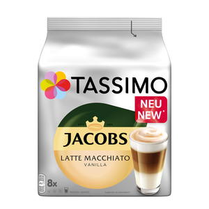 Tassimo Jacobs Latte Macchiato Vanilla   8 T Discs