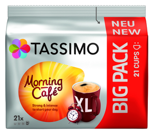 Tassimo Morning Café Big Pack | 21 XL Kapseln