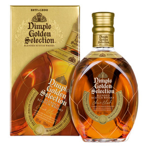 Dimple Golden Selection Blended Scotch Whisky 40% Vol. 0,7l