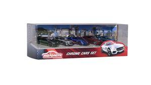 Majorette - Premium Series - Chrome Cars 5-er Set