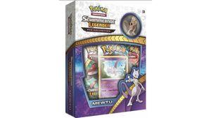 Pokémon Sammelkartenspiel - Schimmernde Legenden Mewtu Pin Box SM3.5