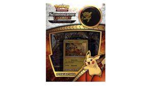 Pokémon Sammelkartenspiel - Schimmernde Legenden Picachu Pin Box SM3.5