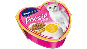 Vitakraft Katzennassfutter Poésie® + Huhn & Gartengemüse in Sauce