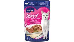 Vitakraft Katzennassfutter Poésie® Déli Sauce + Seelachs