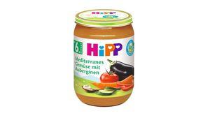 HiPP Gemüse - Mediterranes Gemüse mit Auberginen