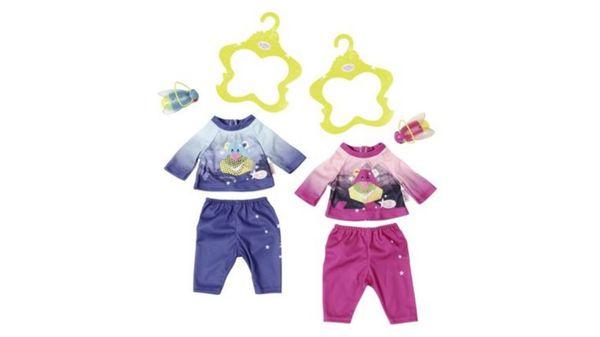 Zapf Creation - Baby born Play&Fun Nachtlicht Outfit, sortiert (Gr. 43 cm)
