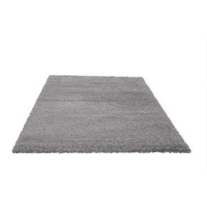 Hochflorteppich Tender Shaggy Silber ca. 160 x 230 cm