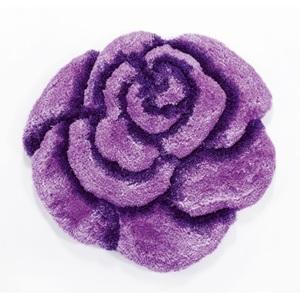 Teppich Rose Pink ca. Ø 70 cm