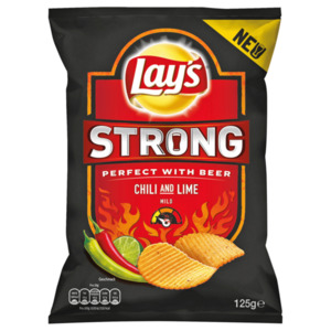 Lay´s Strong Chili & Lime 125g