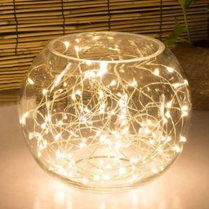 Mikro-LED-Innenlichterkette 4,25m 80 LEDs Warmweiß