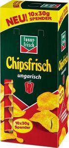 funny-frisch Chipsfrisch ungarisch Spender 10x30g