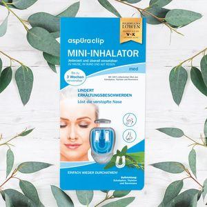 aspUraclip Mini-Inhalator med 3er-Set