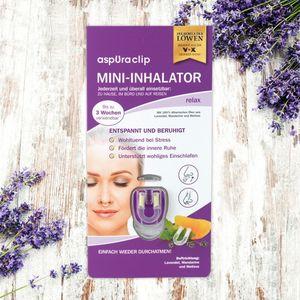 aspUraclip Mini-Inhalator relax 3er-Set