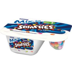 Nestlé Joghurt & Smarties oder Lion Cereals