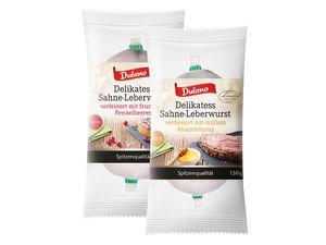 Delikatess-Leberwurst