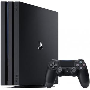 Sony PlayStation 4 Pro Konsole mit 1 TB - Farbe: Schwarz