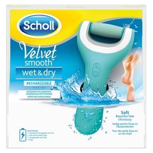 Scholl Velvet Smooth Pedi Wet & Dry Elektrischer Hornhautentferner