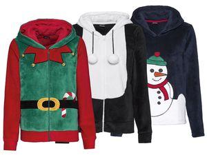 ESMARA® Damen Weihnachtsjacke-/Pullover