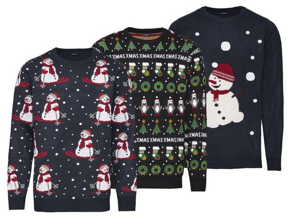 wähle authentisch Finden Sie den niedrigsten Preis beliebt kaufen LIVERGY® Herren Weihnachtspullover
