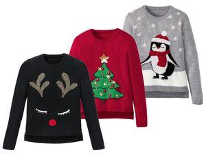 PEPPERTS® Kinder Mädchen Weihnachtspullover