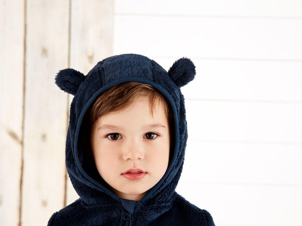 Bild 4 von LUPILU® Kleinkinder Jungen Teddyfleecejacke