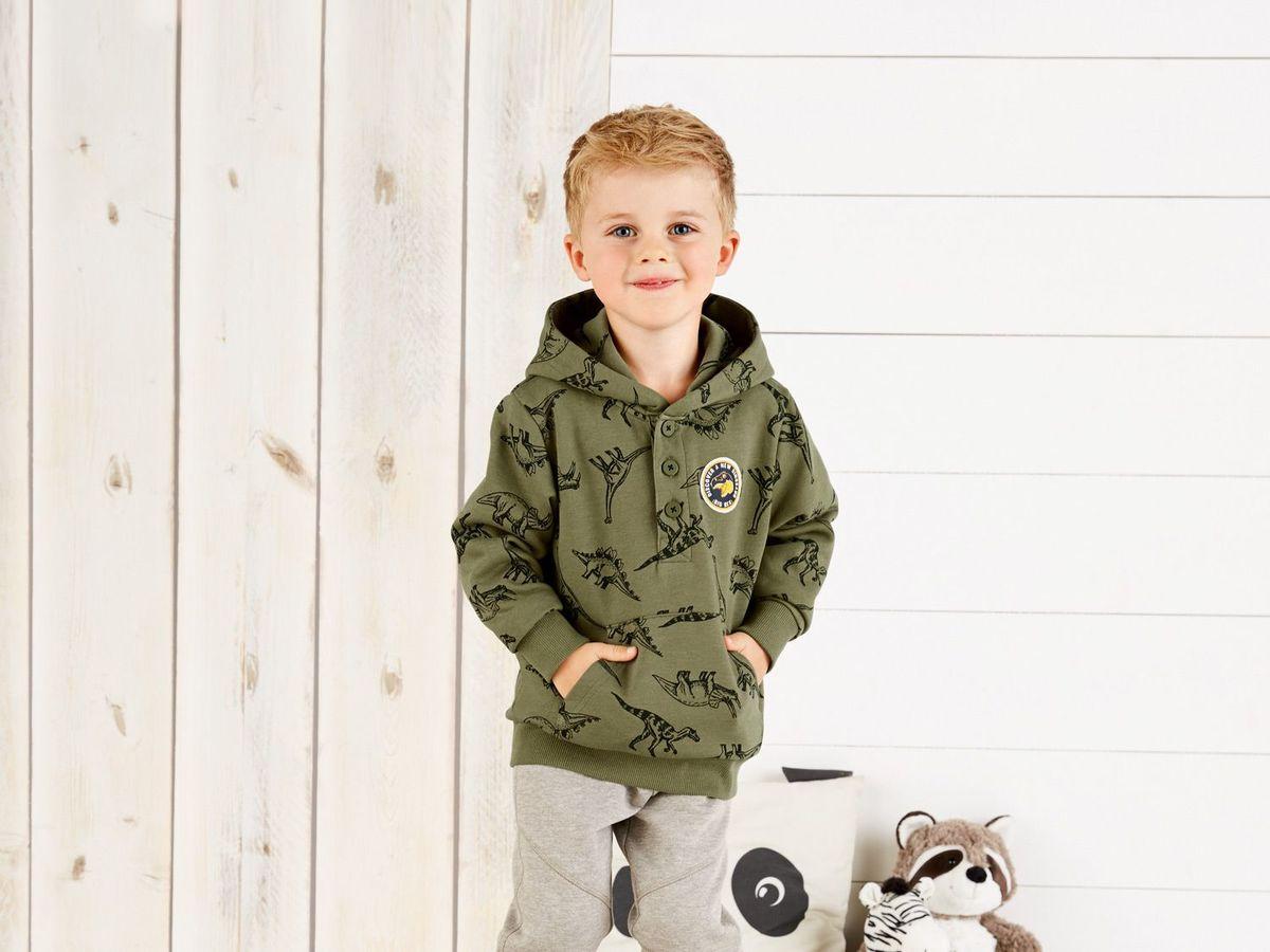 Bild 4 von LUPILU® Kleinkinder Jungen Sweatshirt