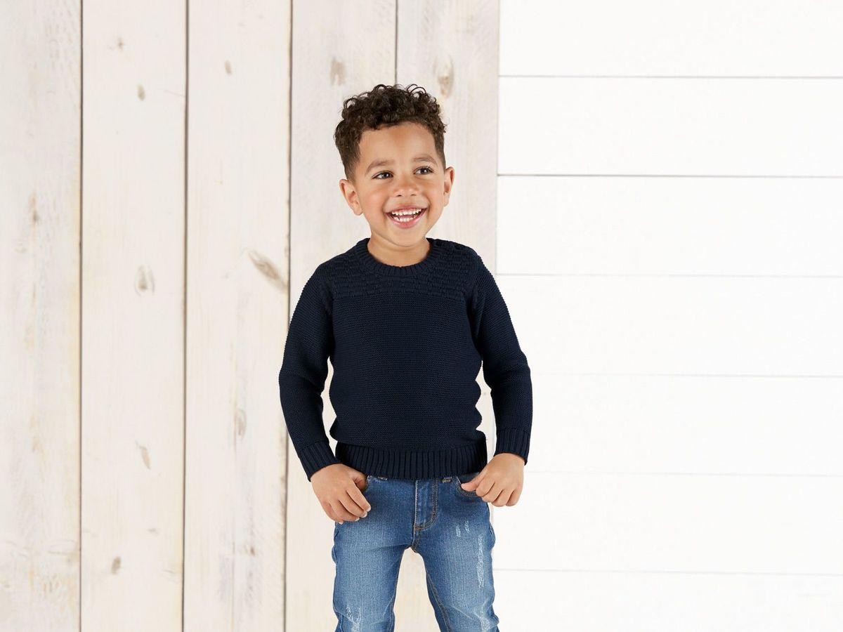 Bild 4 von LUPILU® Kleinkinder Jungen Strickpullover