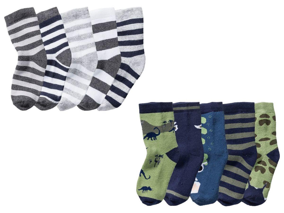 Bild 1 von LUPILU® 5 Paar Kleinkinder Jungen Socken