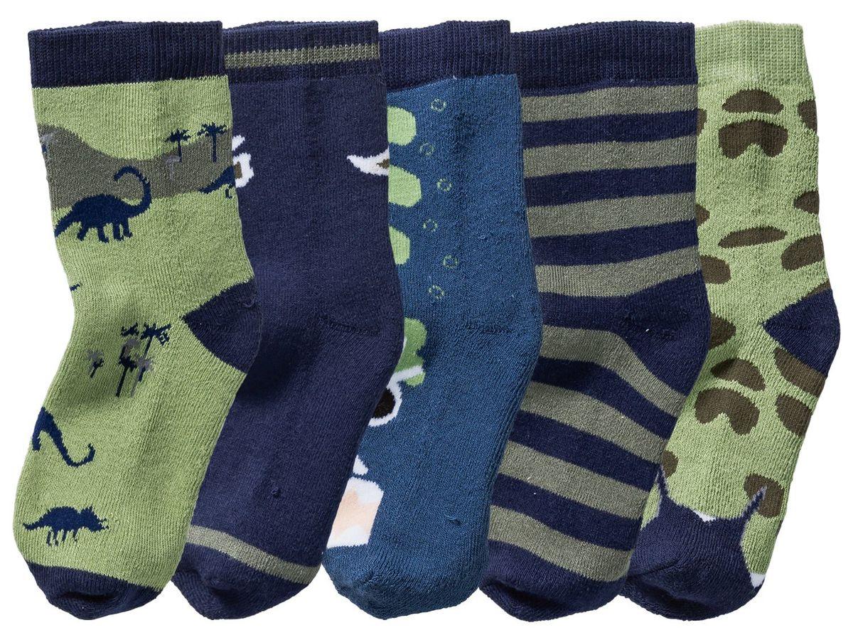 Bild 2 von LUPILU® 5 Paar Kleinkinder Jungen Socken