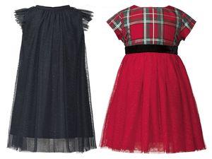 LUPILU® Kleinkinder Mädchen Kleid